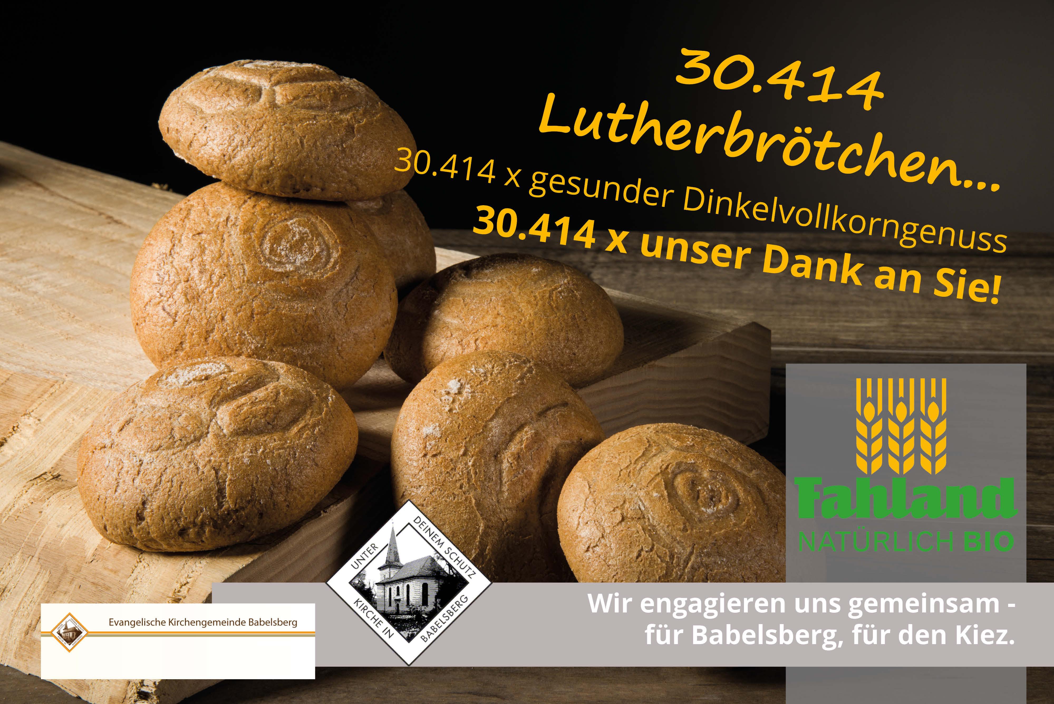 Unser Lutherbrötchen – Ein Voller Erfolg Kommt Auf Die Leinwand!