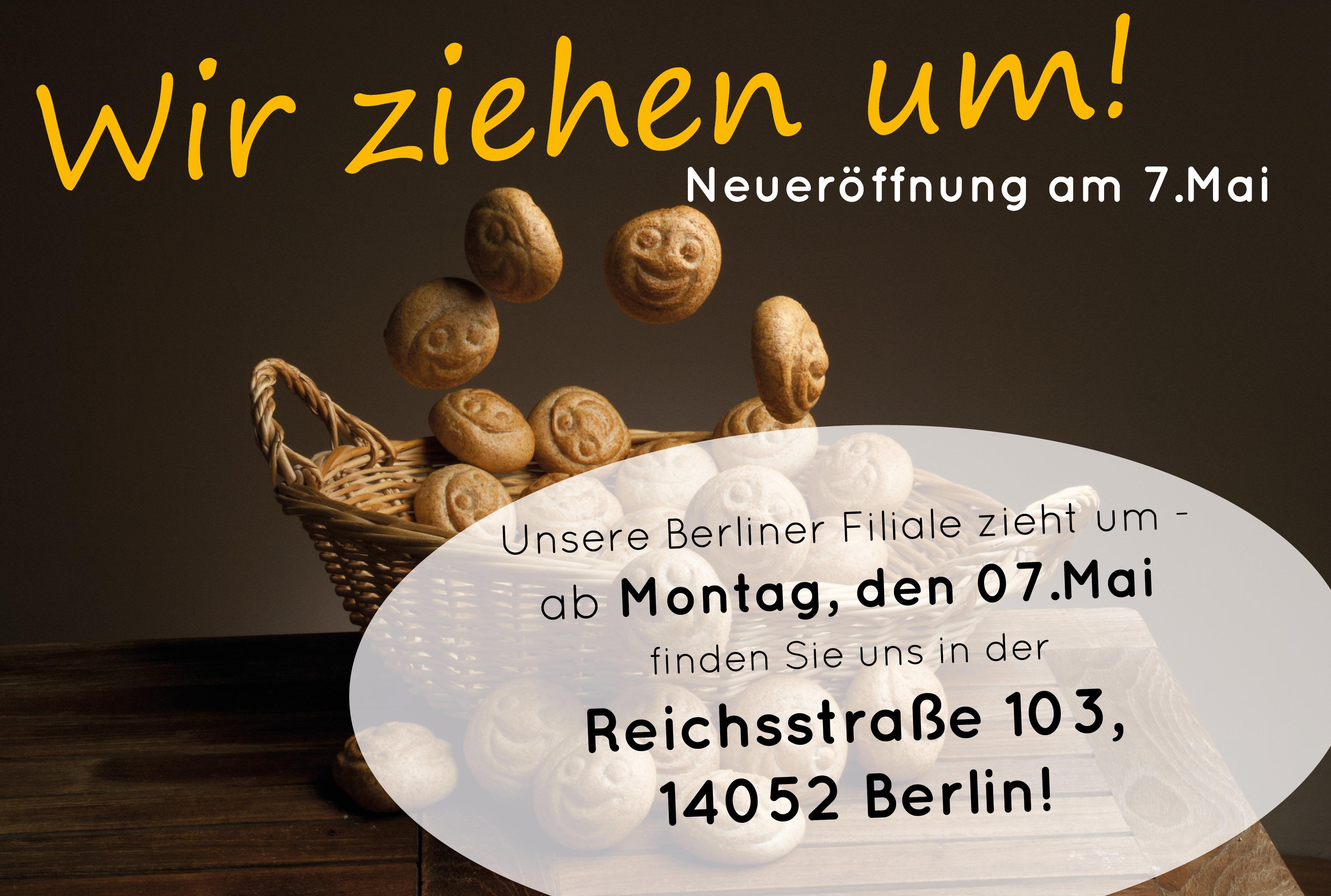 Unsere Berliner Filiale Zieht Um!