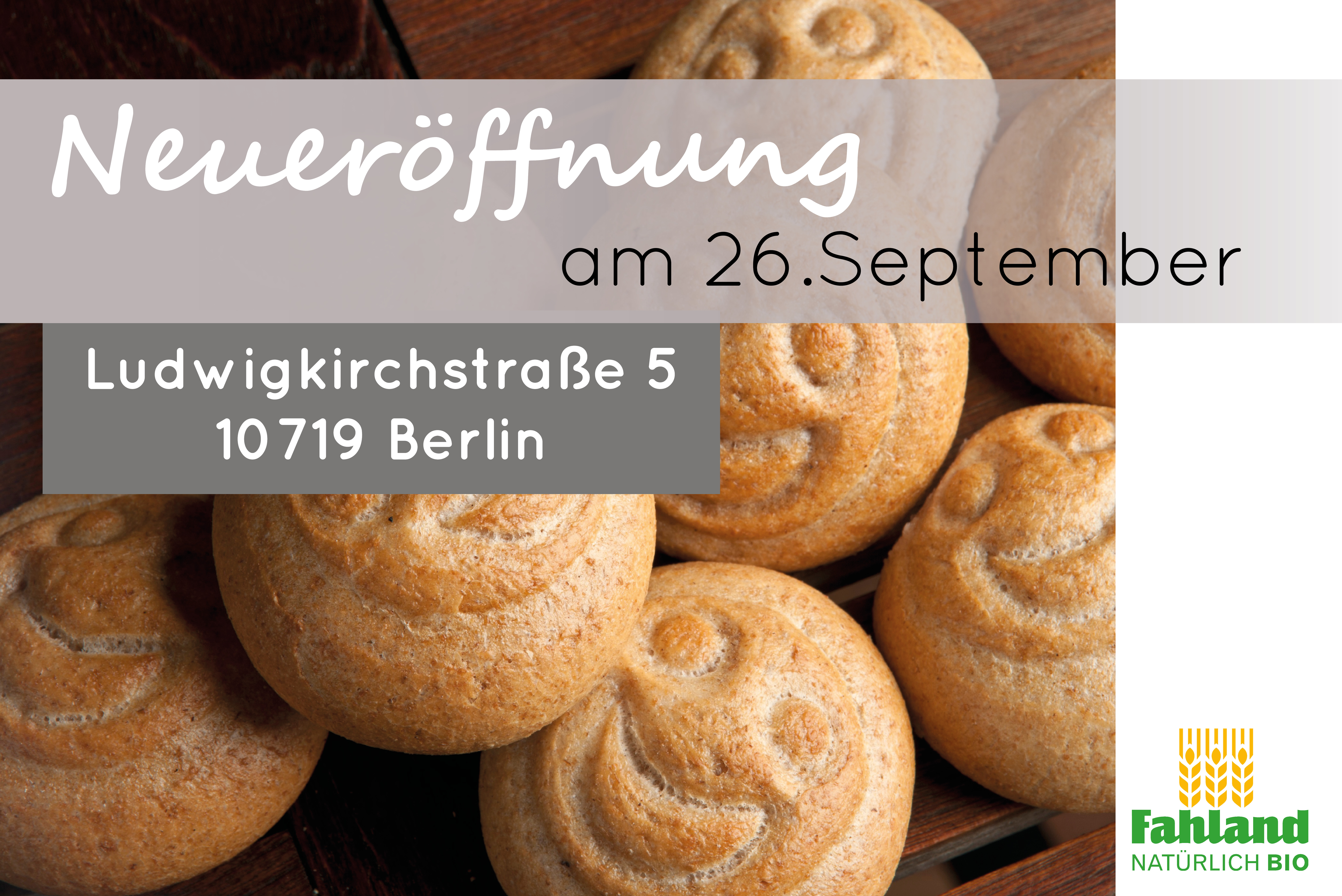 Herzlich Willkommen In Unserer Neuen Filiale In Berlin!